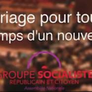 Mariage gay : la vidéo des députés PS
