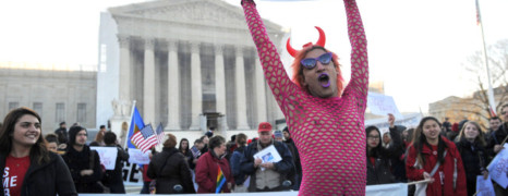 Washington à l'heure du mariage gay