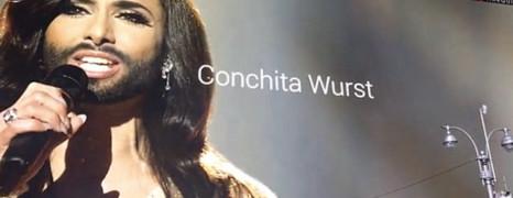 Conchita Wurst en guest star à Times Square