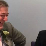 L'acteur Stephen Fry a épousé son compagnon