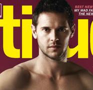 Matt Jarvis à la une d'un magazine gay