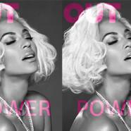 Beyoncé en couverture du mag Out
