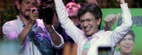Colombie : Claudia Lopez, première femme élue à la mairie de Bogota