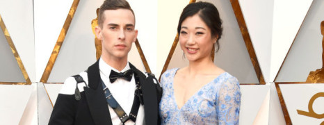 Oscars : Adam Rippon médaillé aux JO en harnais de cuir