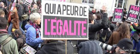 La vidéo de la manif pour l'égalité