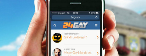 Bougez avec la version mobile de 24Gay.fr
