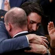 Les excuses de Justin Trudeau et des larmes