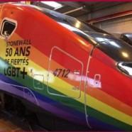 La SNCF va faire circuler un train aux couleurs de l'arc-en-ciel