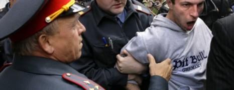 Russie : la gaypride se termine mal