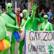 Des chrétiens anti-gay déguisés en zombies à la gay pride de Toronto