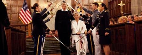US : 1er mariage gay dans une chapelle militaire
