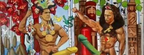 Obama-Poutine : le tableau interdit
