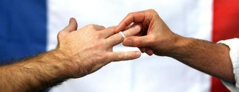 Les Français contre l'abrogation du mariage gay