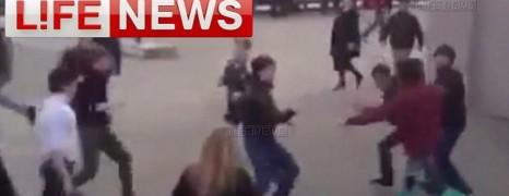 Une flash-mob prise pour une gaypride en Russie
