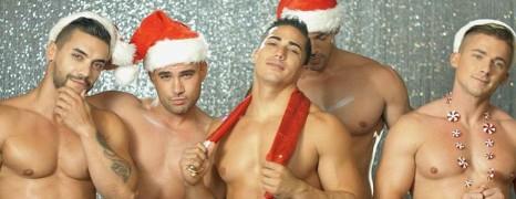 Le Noël d'Andrew Christian et ses boys