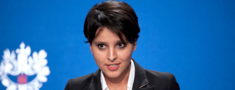 Vallaud-Belkacem déjà la cible des anti-mariage gay