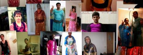 Des Kurdes d'Iran se travestissent pour protester