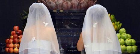Les Britanniques pour le mariage gay