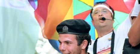 Un sosie de Hollande à la Gaypride de Jérusalem