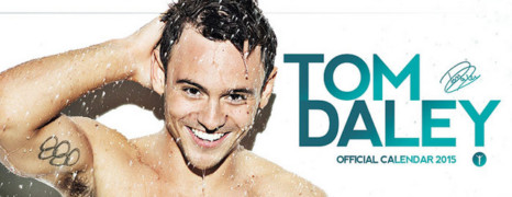 Le making of du calendrier 2015 de Tom Daley