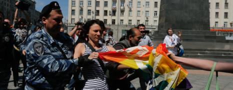 2 militantes de la cause homo arrêtées à Moscou