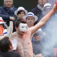 Des anti-mariage gay s'invitent à Roland-Garros