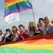 Rassemblement gay à Saint-Pétersbourg